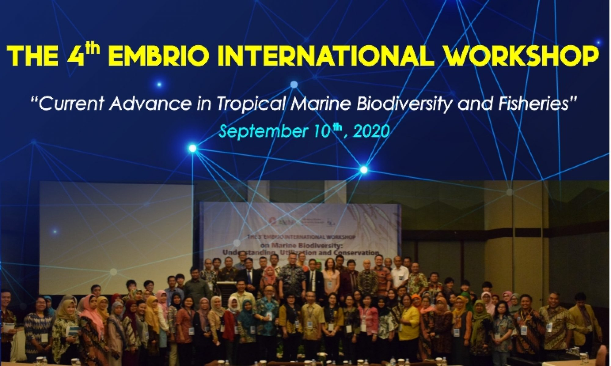 THE 4th EMBRIO INTERNATIONAL WORKSHOP